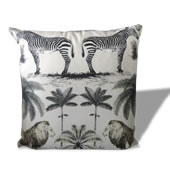 Coussin animaux jungle